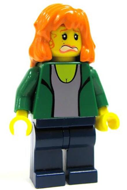 LEGO Spider-Man Loose Mary Jane Minifigure [Green Jacket Loose]