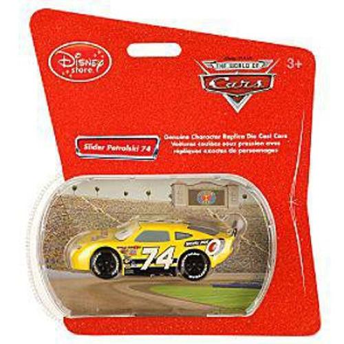 Disney Cars 1:48 Single Packs Slider Petrolski No. 74 Exclusive Diecast Car [Sidewall Shine]