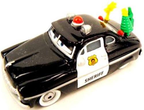 Disney Cars Loose Spirit Sheriff Diecast Car [Loose]
