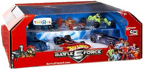 Hot Wheels Battle Force 5 Exclusive 1/6 Diecast Vehicle 7-Pack