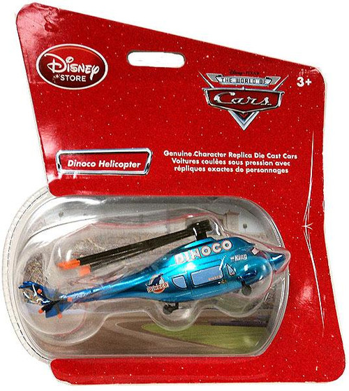 Disney Cars 1:48 Single Packs Dinoco Helicopter Exclusive Diecast Car