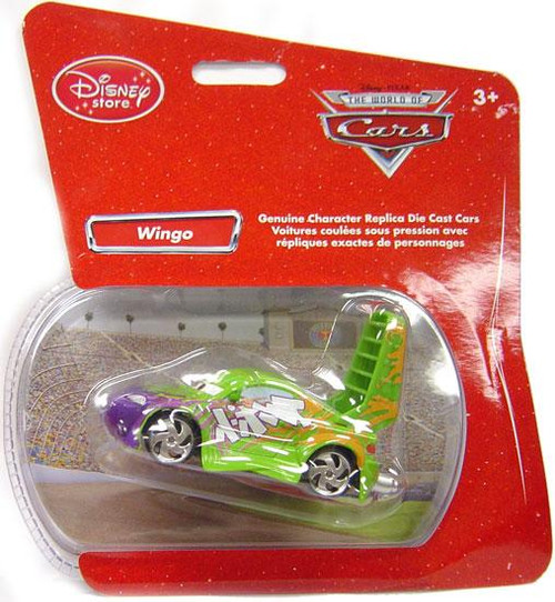 Disney Cars 1:48 Single Packs Wingo Exclusive Diecast Car