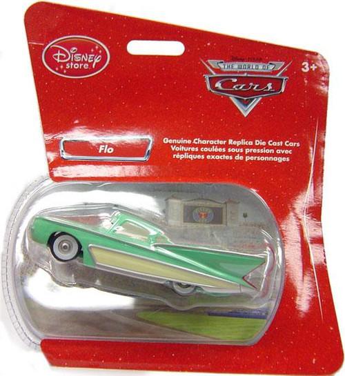 Disney Cars 1:48 Single Packs Flo Exclusive Diecast Car
