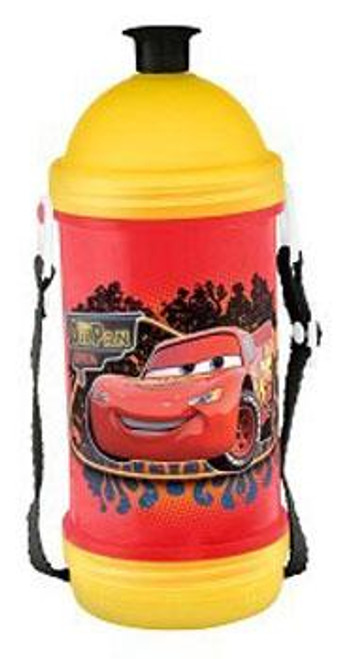 Disney Cars Lightning McQueen Sip N' Snack Bottle