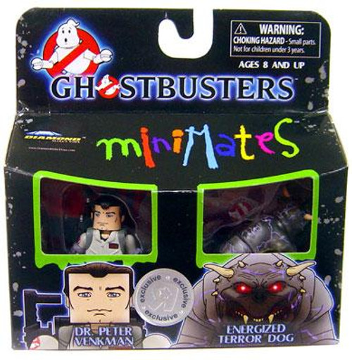 Ghostbusters Minimates Dr. Peter Venkman & Energized Terror Dog Exclusive Minifigure 2-Pack