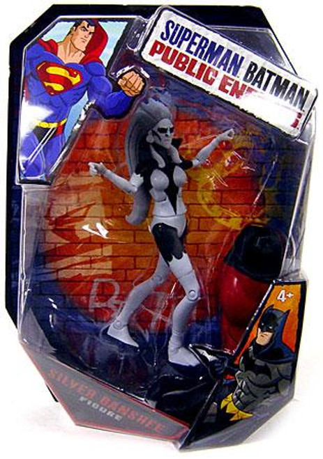 Batman Public Enemies Silver Banshee Action Figure