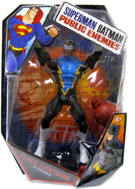 Batman Public Enemies Black Lightning Action Figure