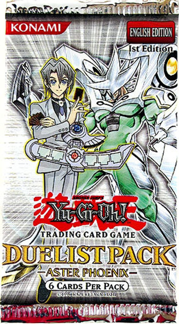 YuGiOh Duelist Pack Aster Phoenix Booster Pack [Sealed]