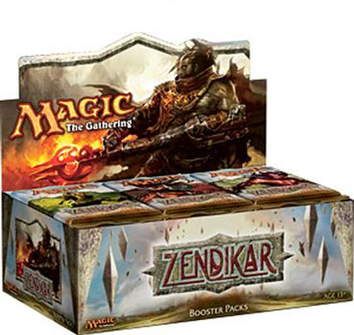 MtG Zendikar Booster Box [Sealed]