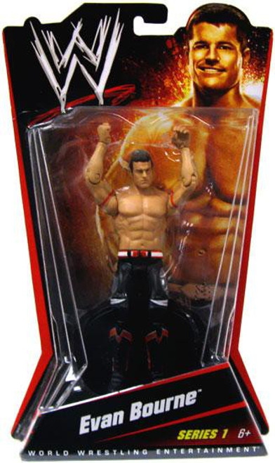 WWE Wrestling Series 1 Evan Bourne Action Figure