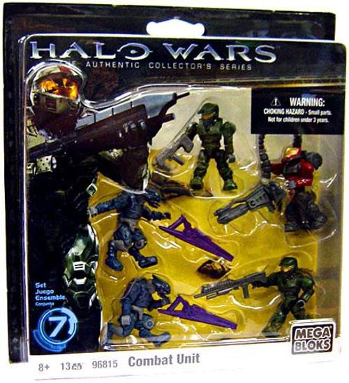 Mega Bloks Halo The Authentic Collector's Series Combat Unit Exclusive Set #96815