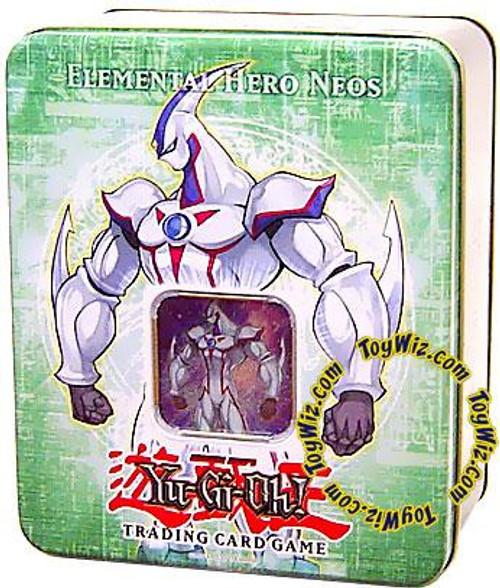 YuGiOh GX 2006 Collector Tin Elemental Hero Neos Collector Tin [Sealed]