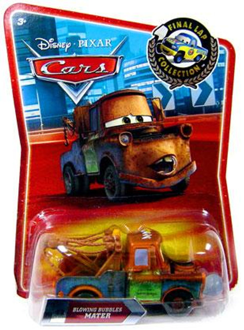 Disney Cars Final Lap Collection Blowing Bubbles Mater Exclusive Diecast Car