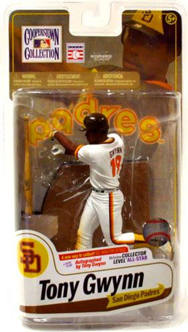McFarlane Toys MLB Cooperstown Collection Series 7 Tony Gwynn Action Figure [White Jersey]
