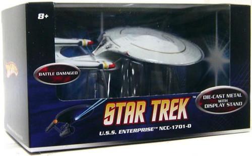 Hot Wheels Star Trek U.S.S. Enterprise NCC-1701-D Die-Cast Figure