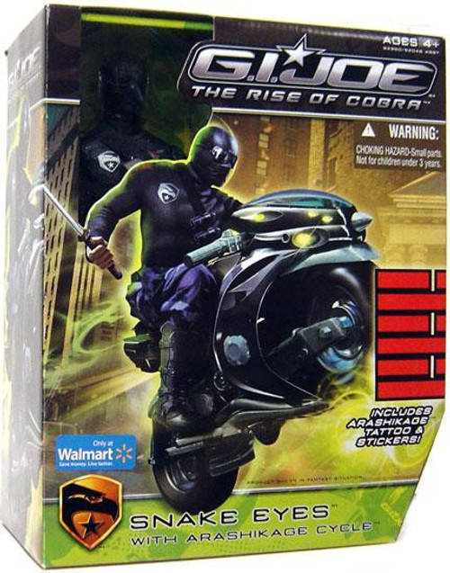 GI Joe The Rise of Cobra Snake Eyes Exclusive 12 Inch Action Figure
