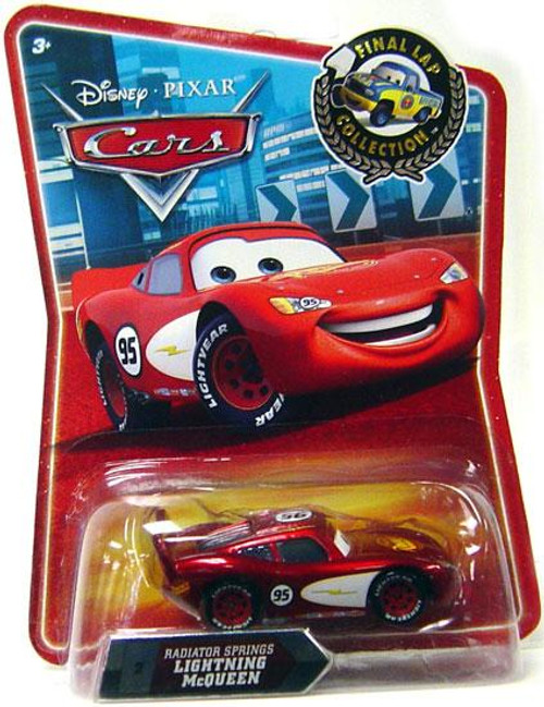 Disney Cars Final Lap Collection Radiator Springs Lightning McQueen Exclusive Diecast Car