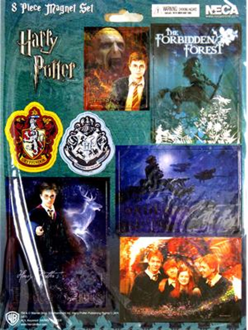 NECA Harry Potter 8-Piece Sheet Magnets