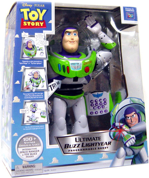 Disney Toy Story Buzz Lightyear Programmable Robot [Ultimate]