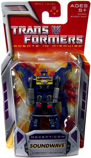 Transformers Robots in Disguise Classics Soundwave Legends Action Figure