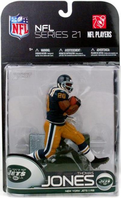 McFarlane Toys NFL New York Jets Sports Picks Series 21 Thomas Jones Action Figure [AFL Throwback Uniform]