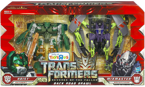 Transformers Revenge of the Fallen Back Road Brawl Exclusive Action Figure Set