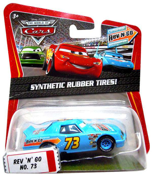 Disney Cars The World of Cars Synthetic Rubber Tires Rev-N-Go No. 73 Exclusive Diecast Car