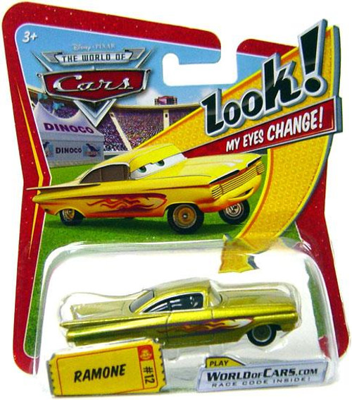 Disney Cars The World of Cars Lenticular Eyes Series 1 Ramone Diecast Car [Gold]