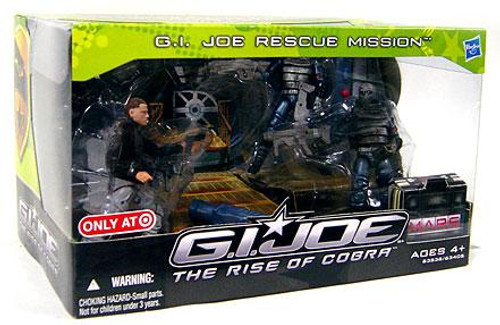 The Rise of Cobra GI Joe Rescue Mission Exclusive Action Figure 4-Pack