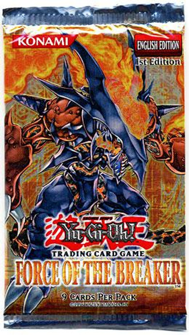 YuGiOh Force of the Breaker Booster Pack [Sealed]