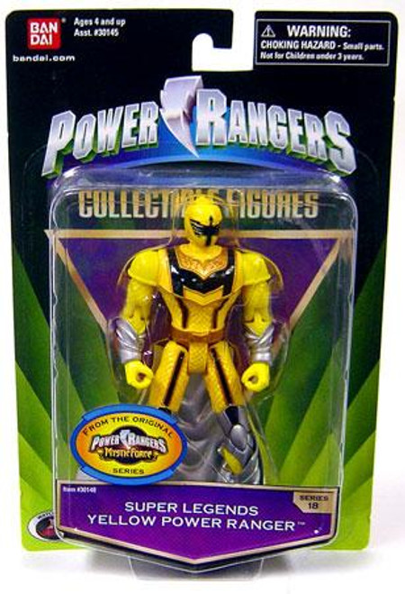 Power Rangers Mystic Force Collectible Figures Super Legends Yellow Power Ranger Action Figure