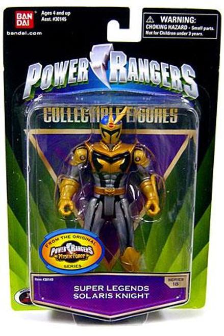 Power Rangers Mystic Force Collectible Figures Super Legends Solaris Knight Action Figure
