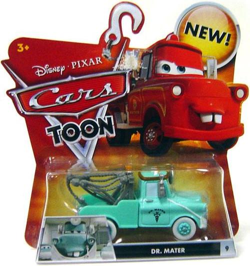 Disney Cars Cars Toon Main Series Dr. Mater Diecast Car #9 [Mask Down]