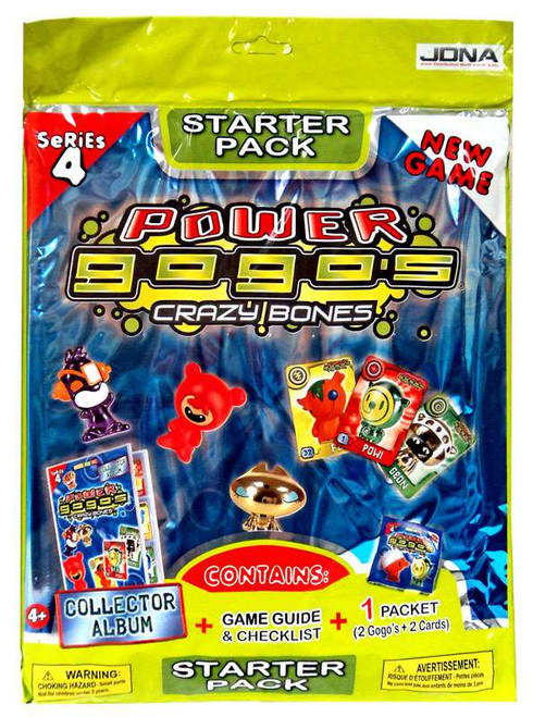 Crazy Bones Gogo's Series 4 Power Starter Pack