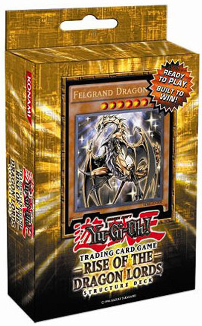 YuGiOh Structure Deck: Rise of the Dragon Lords Rise of the Dragon Lords Structure Deck [1st Edition] [Sealed Deck]