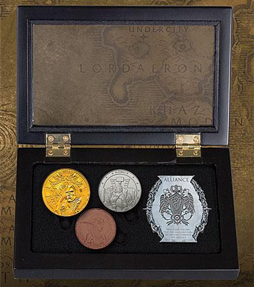 World of Warcraft Alliance Collectible Coin Set