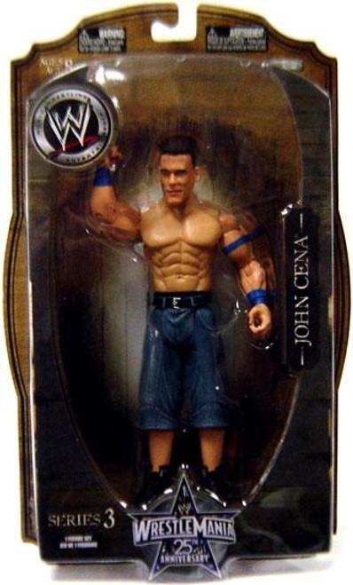 WWE Wrestling WrestleMania 25 Series 3 John Cena Action Figure