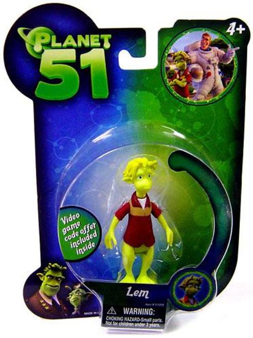 Planet 51 Lem Mini Figure