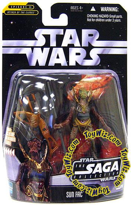 Star Wars Attack of the Clones Saga Collection 2006 Sun Fac Action Figure #16
