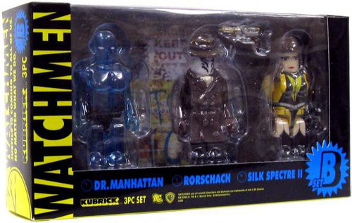 Watchmen Kubrick Set B Mini Figure Set
