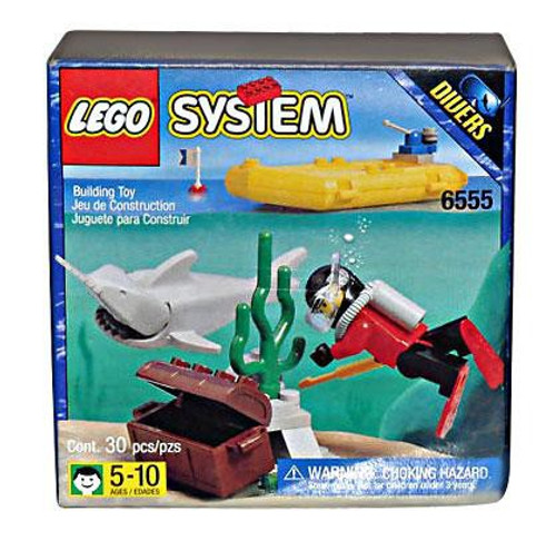 LEGO System Sea Hunter Set #6555