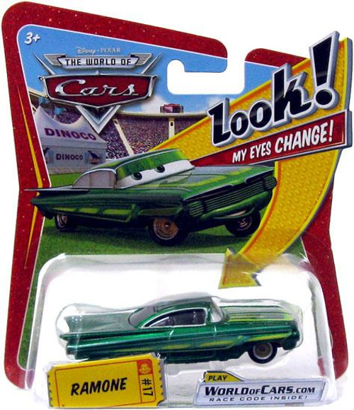 Disney Cars The World of Cars Lenticular Eyes Series 1 Ramone Diecast Car [Green]