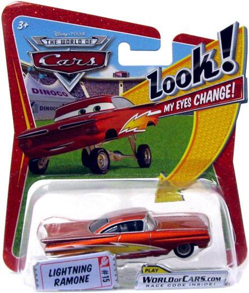 Disney Cars The World of Cars Lenticular Eyes Series 1 Lightning Ramone Diecast Car