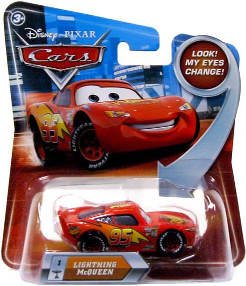 Disney Cars Lenticular Eyes Series 2 Lightning McQueen Diecast Car