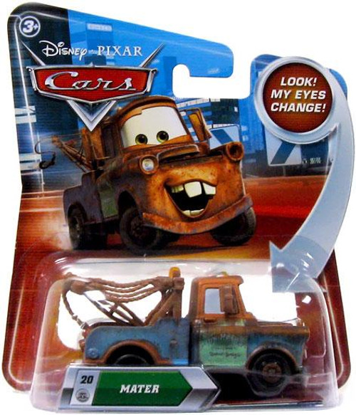 Disney Cars Lenticular Eyes Series 2 Mater Diecast Car