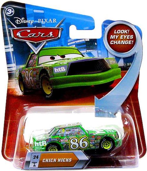 Disney Cars Lenticular Eyes Series 2 Chick Hicks Diecast Car