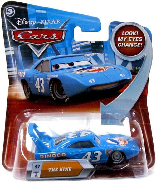 Disney Cars Lenticular Eyes Series 2 The King Diecast Car