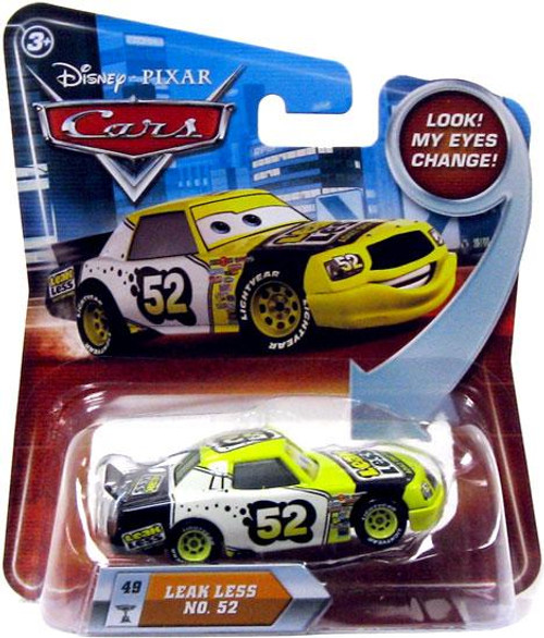 Disney Cars Lenticular Eyes Series 2 Leak Less No. 52 Diecast Car