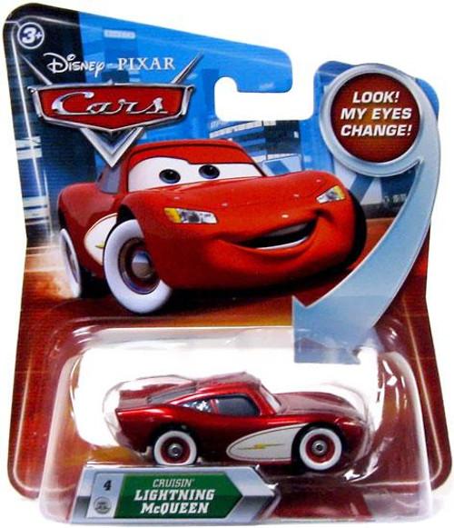 Disney Cars Lenticular Eyes Series 2 Cruisin' Lightning McQueen Diecast Car