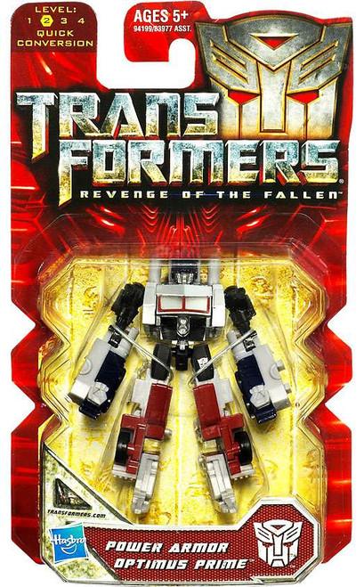 Transformers Revenge of the Fallen Power Armor Optimus Prime Legends Legends Mini Figure